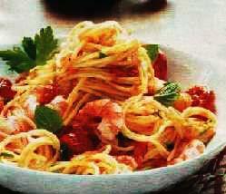 Špagete sa račićima