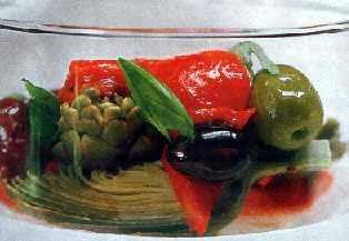Salata od artičoka sa maslinama
