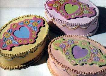 Boje u dekorisanju torti
