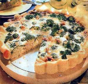 Slana torta od brokula sa sirom