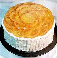 Jafa torta sa dva fila