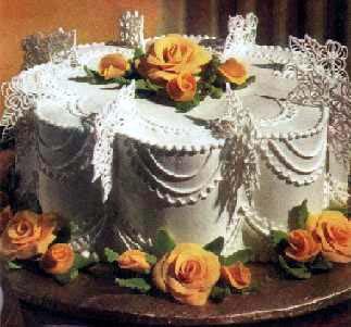 Napravite ukrasne ruže za tortu