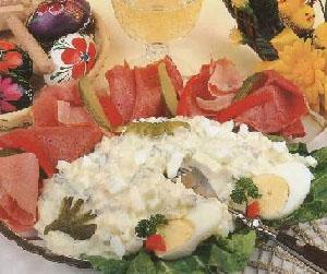 Salata od jaja i šunke