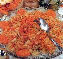 Salata od ribanca s šargarepom