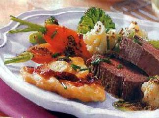 Kuvana govedina sa povrćem u senfu