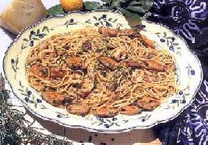 Špageti sa pečurkama