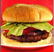 Hamburger sa sosom od kopra