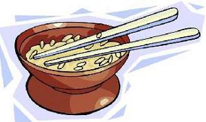 Pečeni pirinač s kestenjem