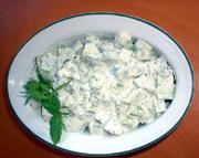 Salata od krastavaca i kajmaka