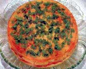 Torta sa sirom i šunkom