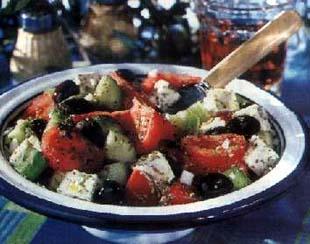 Salata na grčki način