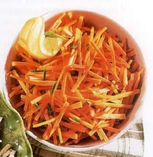 Žilijen salata od šargarepe