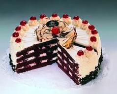 Švarcvald torta s bademima