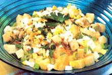 Salata od krompira i graška