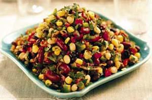 Salata od kukuruza, kikirikija i susama