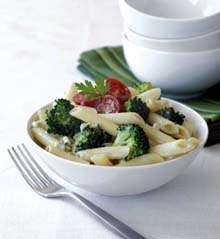 Pene sa sosom od brokula