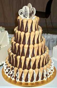 Banana torta s piškotama