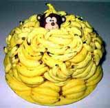 Torta od pudinga s bananama