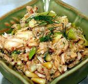 Salata od crvenog pasulja, kukuruza i tunjevine