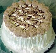Kapućino torta s čokoladom