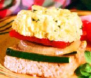 Premaz od jaja za sendviče