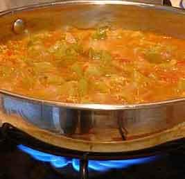 Osvežavajuće jelo od tikvica i paradajza