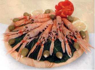 Pečeni škampi