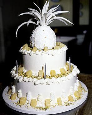 Ananas torta s pudingom