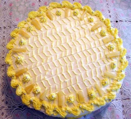 Torta od ananasa i piškota