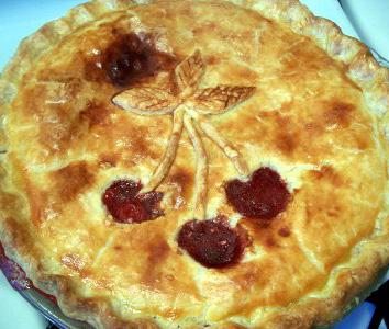 Lenja pita (s jabukama ili višnjama)
