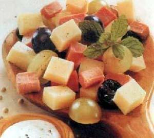 Kačkavalj salata