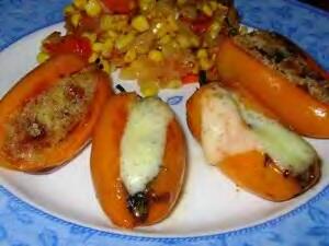 Pržene paprike punjene sirom