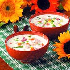 Hladna supa s jogurtom