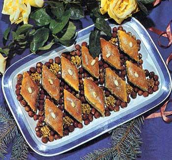 Baklava s čokoladom