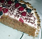 Crna čokoladna torta