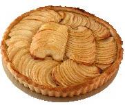 Brzi kolač s jabukama, keksom i pudingom