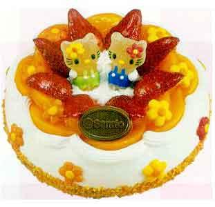 Voćni kolač sa kremom