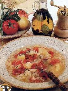 Čorba sa kupusom i paradajzom