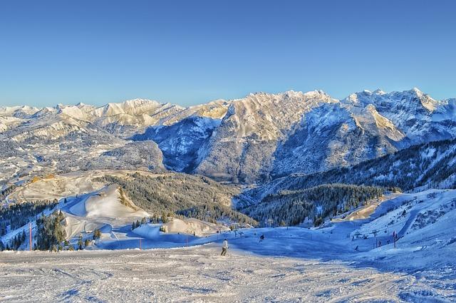 Skijanje na visokoj nozi: centri u Francuskoj (foto)