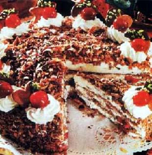 Torta od kafe i višanja