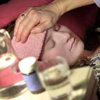 Kako grip deluje na obolele od raka?