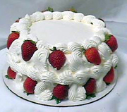 Keks torta s jagodama