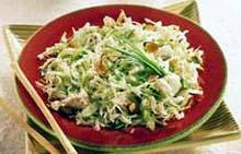 Kupus salata s šunkom i sirom