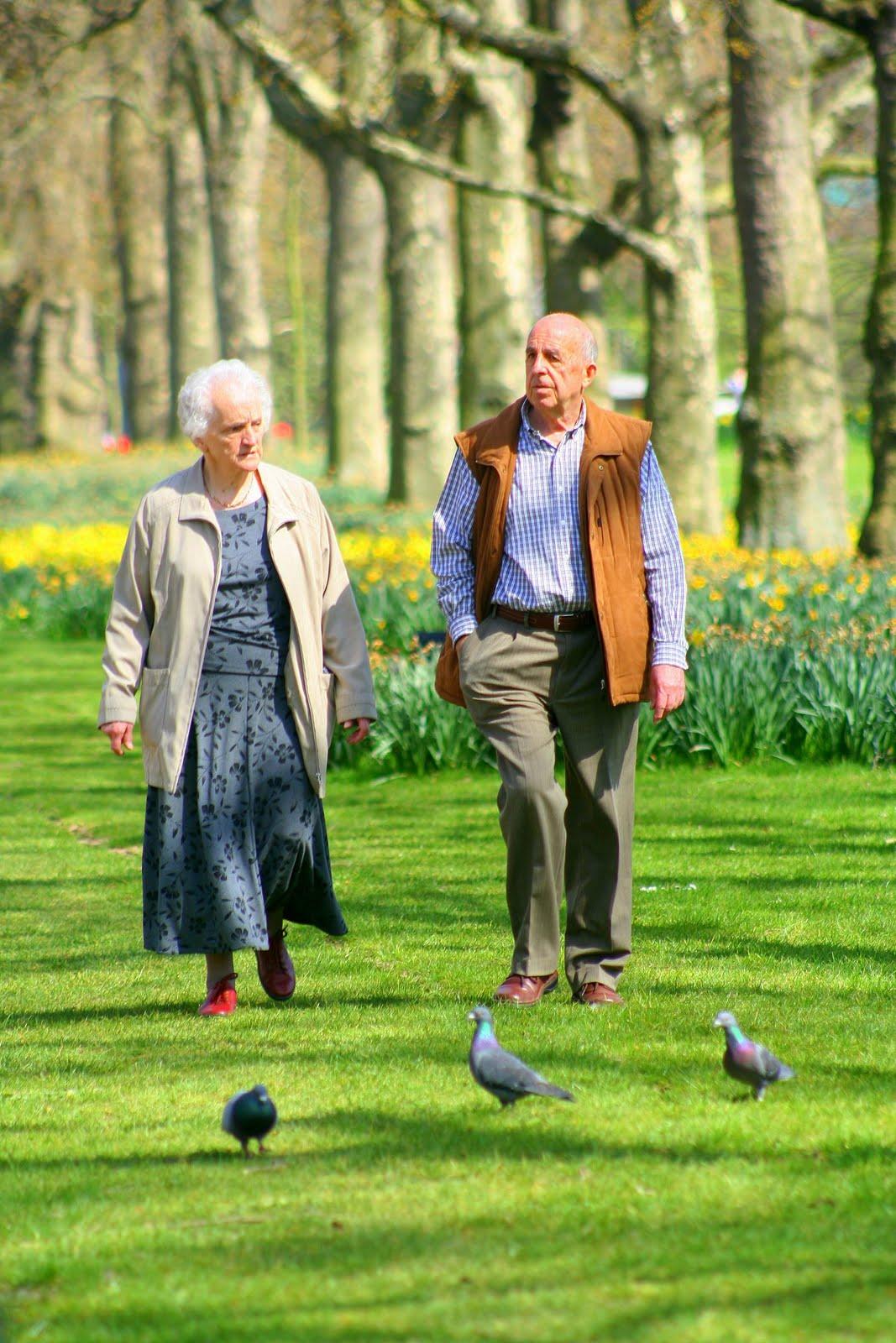 Šetnja i zdravlje starijih osoba