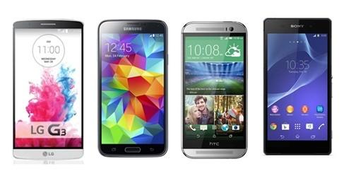 LG-G3-vs.-Samsung-Galaxy-S5-vs.-HTC-One-M8-vs.-Sony-Xperia-Z2-vs.-iPhone-5s