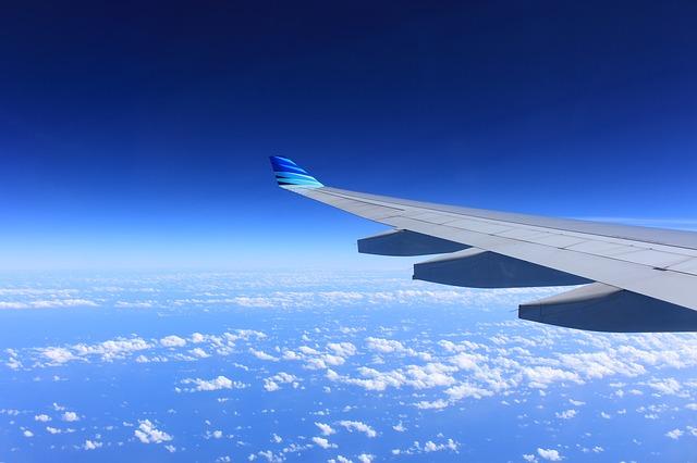Žena iskočila iz aviona