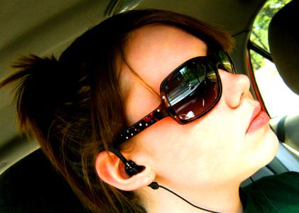 Tragovi od naočara za sunce