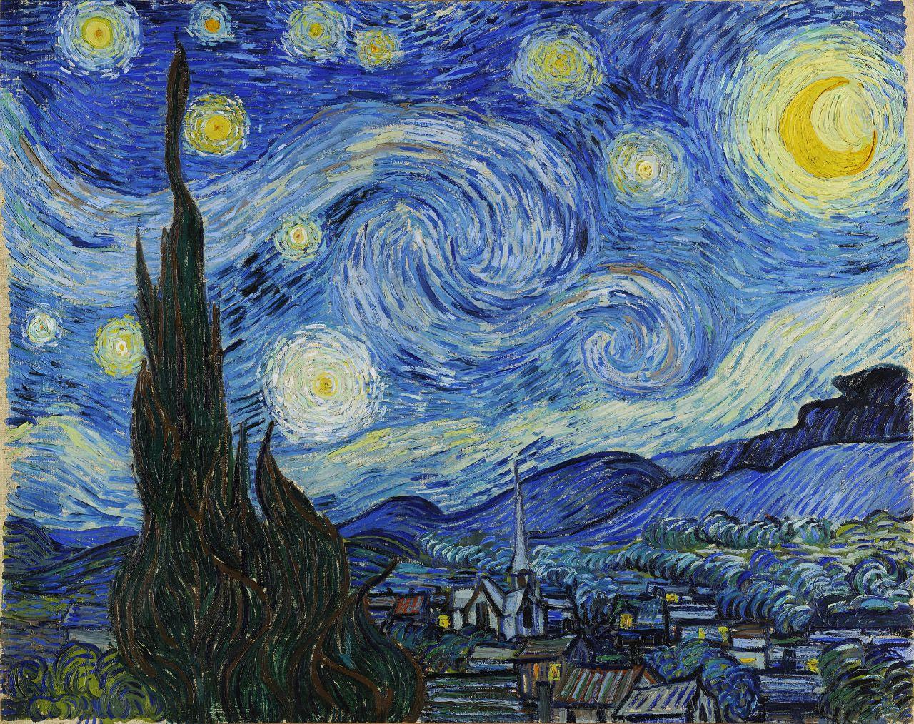 Zvezdana noć - 1889.