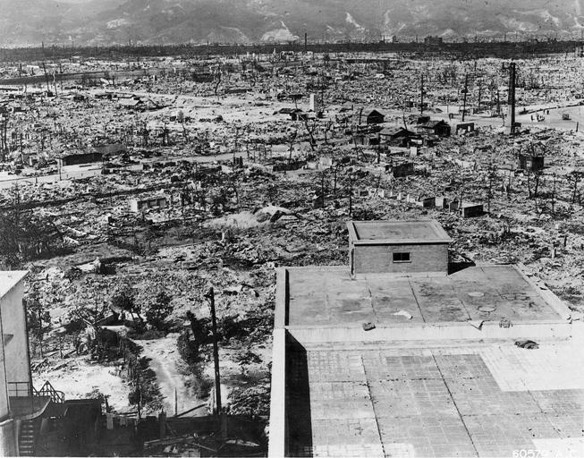 Hirošima posle bombardovanja