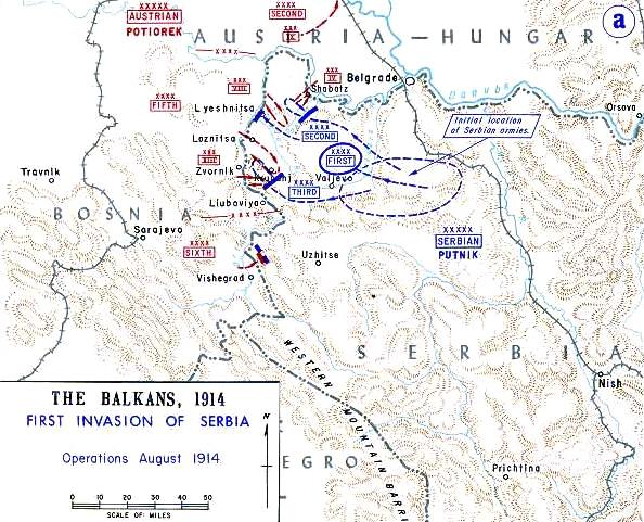 Plan napada Austrougarske na Srbiju